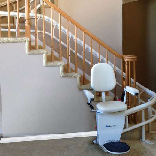 CSL500 - Helix Curved Stair Lift