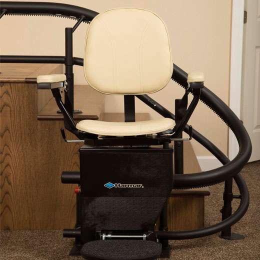 CSL500 Curved StairLift