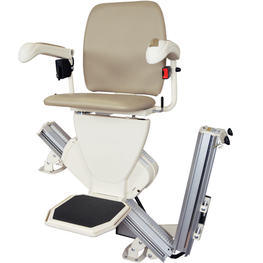 Harmar Pinnacle SL600 Premium Indoor Stairlift - an easy to install, safe, stylish, and reliable stair lift.