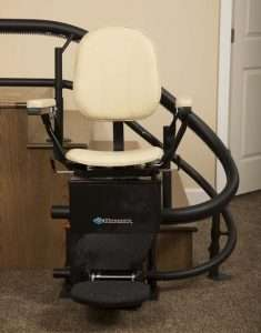 Curved Stair Lifts - Vertical